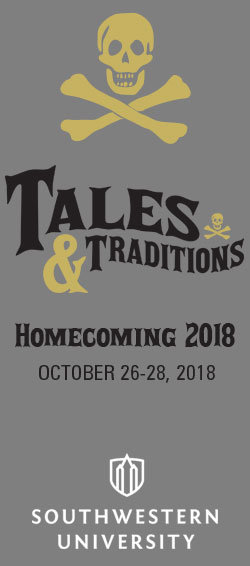 HOMECOMING and REUNION WEEKEND, October 26-28, 2018!