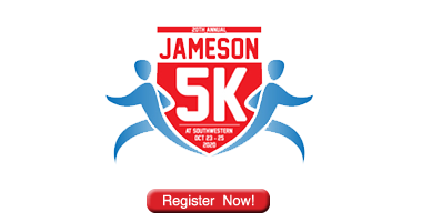 Register now for the 2020 Jameson 5K!